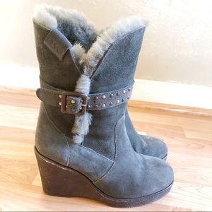 Emu Heighton Wedge Boot